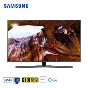 """UE43RU7409 • 3 x HDMI, 2 x USB, CI+ • integr. Kabel-, Sat und DVB-T2-Receiver • Maße: H 56,3 x B 97 x T 5,9 cm • Energie-Effizienz A (Spektrum A+++ bis D)  Bildschirmdiagonale: 43""""/108 cm"""