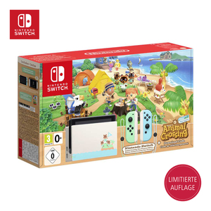 Nintendo Switch inkl. Spiel ANIMAL CROSSING NEW HORIZONS