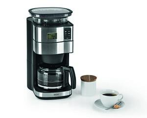 BEEM Fresh-Aroma-Perfect II - Glas Filterkaffeemaschine mit Mahlwerk