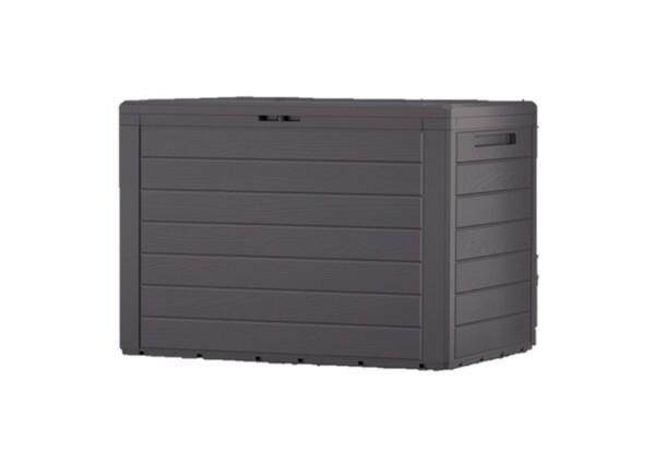 Powertec Garden Kompakt-Auflagenbox - Anthrazit