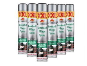 Carfit XXL Kunststoffpflege Spray 6er Set