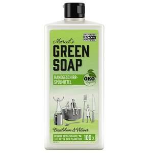 Marcel's Green Soap Handgeschirrspülmittel Basilikum & Vetiver Gras