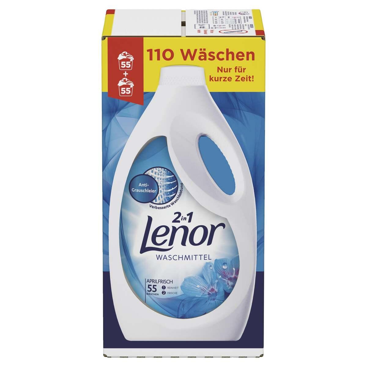 Bild 2 von Lenor Waschmittel Flüssig Aprilfrisch, 110WL