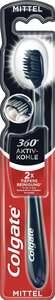 Colgate Zahnbürste 360° Aktivkohle mittel