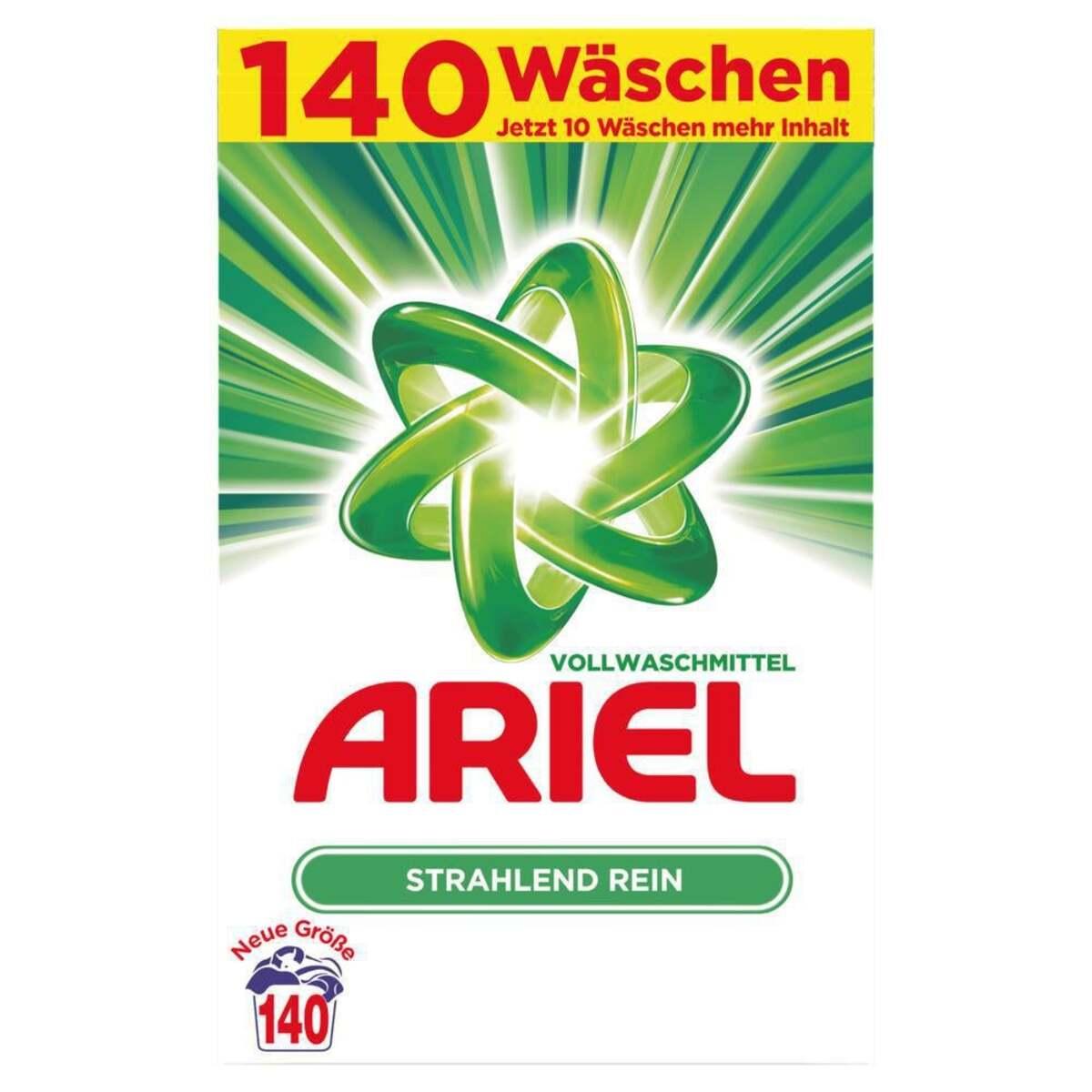 Bild 2 von Ariel Vollwaschmittel Pulver, 140 WL