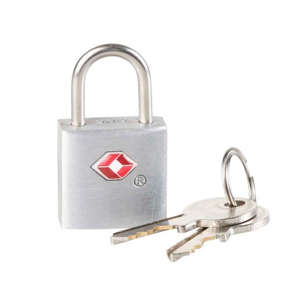 ProVida  Schloss mit Schlüssel in Silberoptik