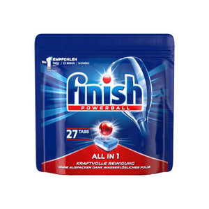 Finish Calgonit Powerballs In 1 Regular (27 Stück)