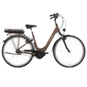 FISCHER E-Bike City Cita 3.0 Damen City Bike mocca