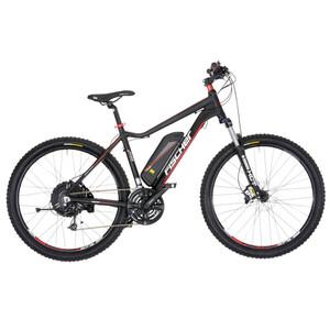 FISCHER E-Bike MTB EM 1608 unisex in schwarz matt