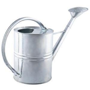 Gießkanne 10 Liter aus Metall verzinkt mit Brause