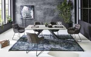 Niehoff - Stuhlgruppe Trinidad / Fluffy in Zement Design