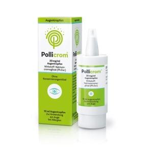 Pollicrom 20 Mg/ml Augentropfen 10 ml