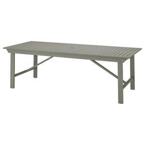 BONDHOLMEN                                Tisch/außen, grau las., 235x90 cm