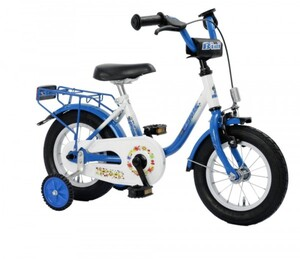 Bachtenkirch Kinderfahrrad 12,5 Zoll blau weiß, Bibi