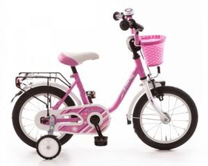 Bachtenkirch Kinderfahrrad My Bonnie 14 Zoll pink/ weiß
