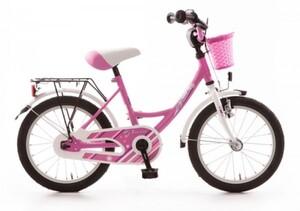 Bachtenkirch Kinderfahrrad My Bonnie 16 Zoll pink/ weiß