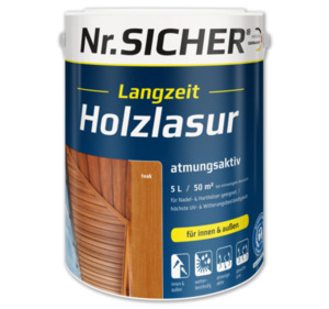 NR. SICHER Holzschutzlasur
