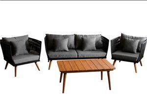 FLORABEST Lounge-Set »Rope«, 4-teilig, mit witterungs- und UV-beständigem Bezug