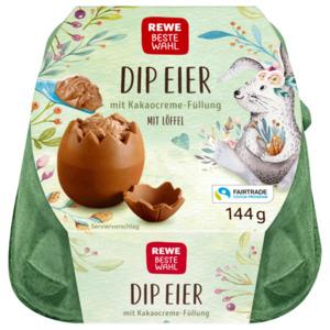 Rewe Beste Wahl Dip Eier mit Schokocreme-Füllung 144g