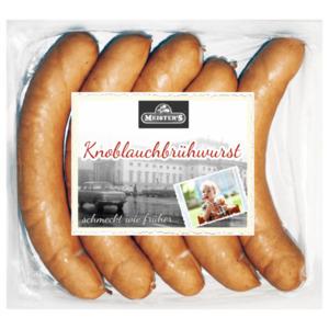 Meister's Knoblauchbrühwurst 5x100g