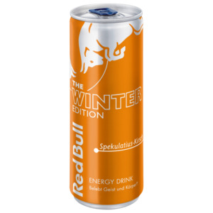 Red Bull Winter Edition Spekulatius-Kirsch Energy Drink 0,25l