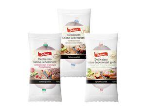 Delikatess-Sahne-Leberwurst