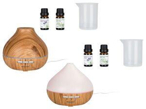 SILVERCREST® Ultraschall Aroma Diffuser Holz SADH A1