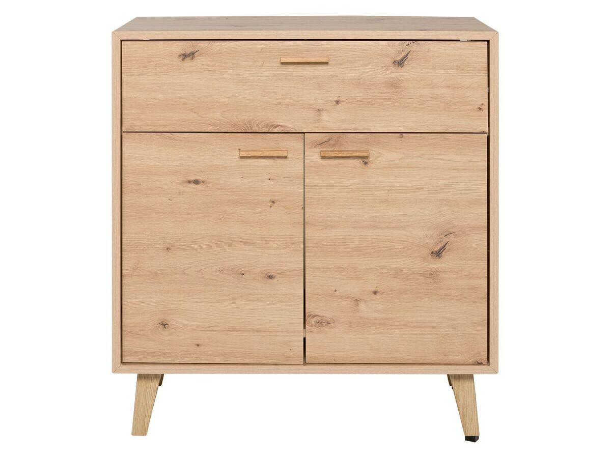 Bild 1 von LIVARNO LIVING® Kommode, mit 2 Türen und 1 Schublade, höhenverstellbarer Einlegeboden