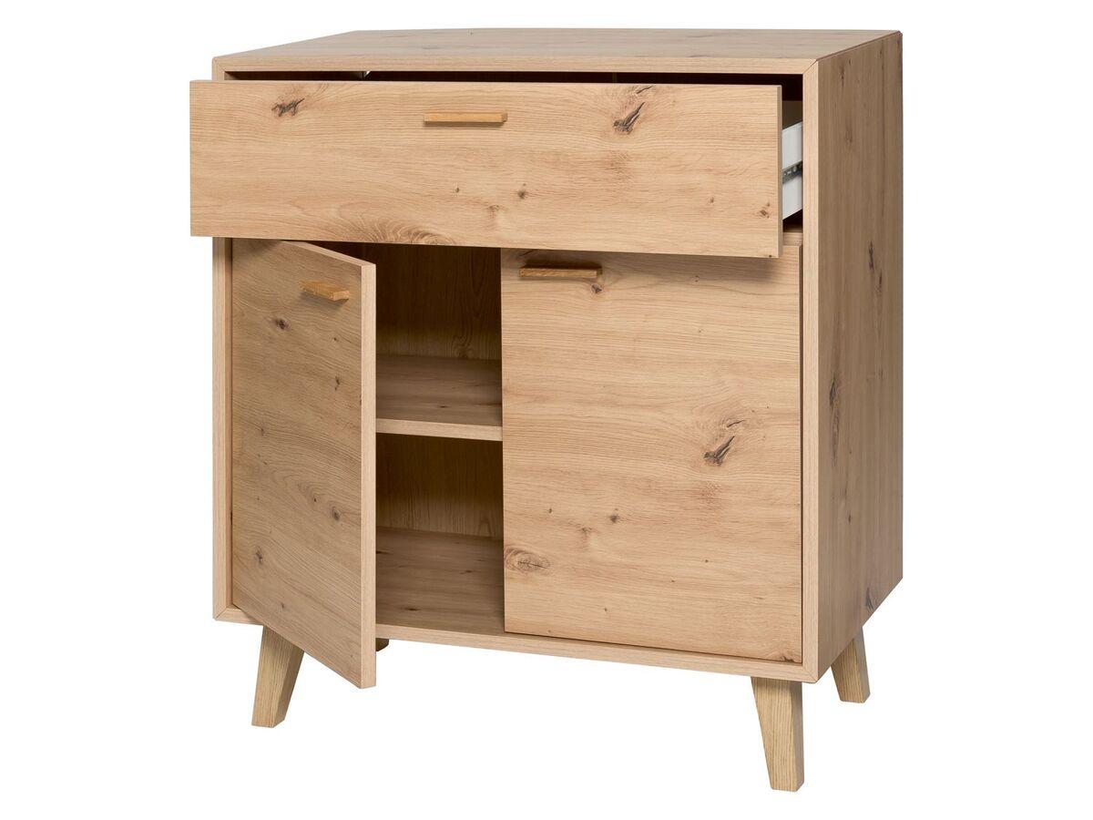 Bild 2 von LIVARNO LIVING® Kommode, mit 2 Türen und 1 Schublade, höhenverstellbarer Einlegeboden