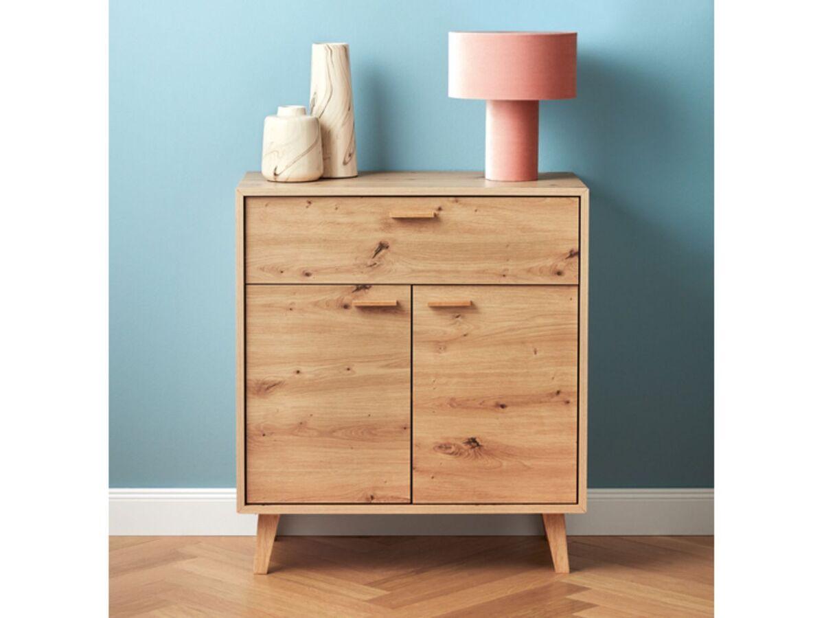 Bild 5 von LIVARNO LIVING® Kommode, mit 2 Türen und 1 Schublade, höhenverstellbarer Einlegeboden