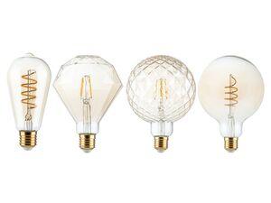 LIVARNO LUX® LED Leuchtmittel »Retro«, warmweißes Licht, nicht dimmbar