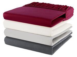 MERADISO® Spannbettlaken, 180-200 x 200 cm, Rundumgummizug, aus reiner Bio-Baumwolle