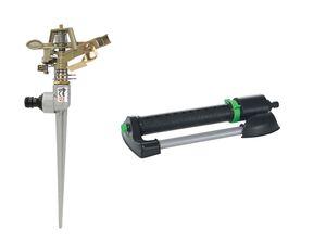PARKSIDE® Bügelregner/ Rasensprenger, mit Messingdüsen, kompatibel mit 13-mm-Stecksystem