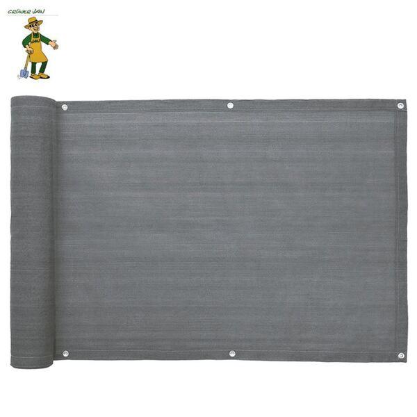 Grüner Jan Balkonsichtschutz 6m Grau