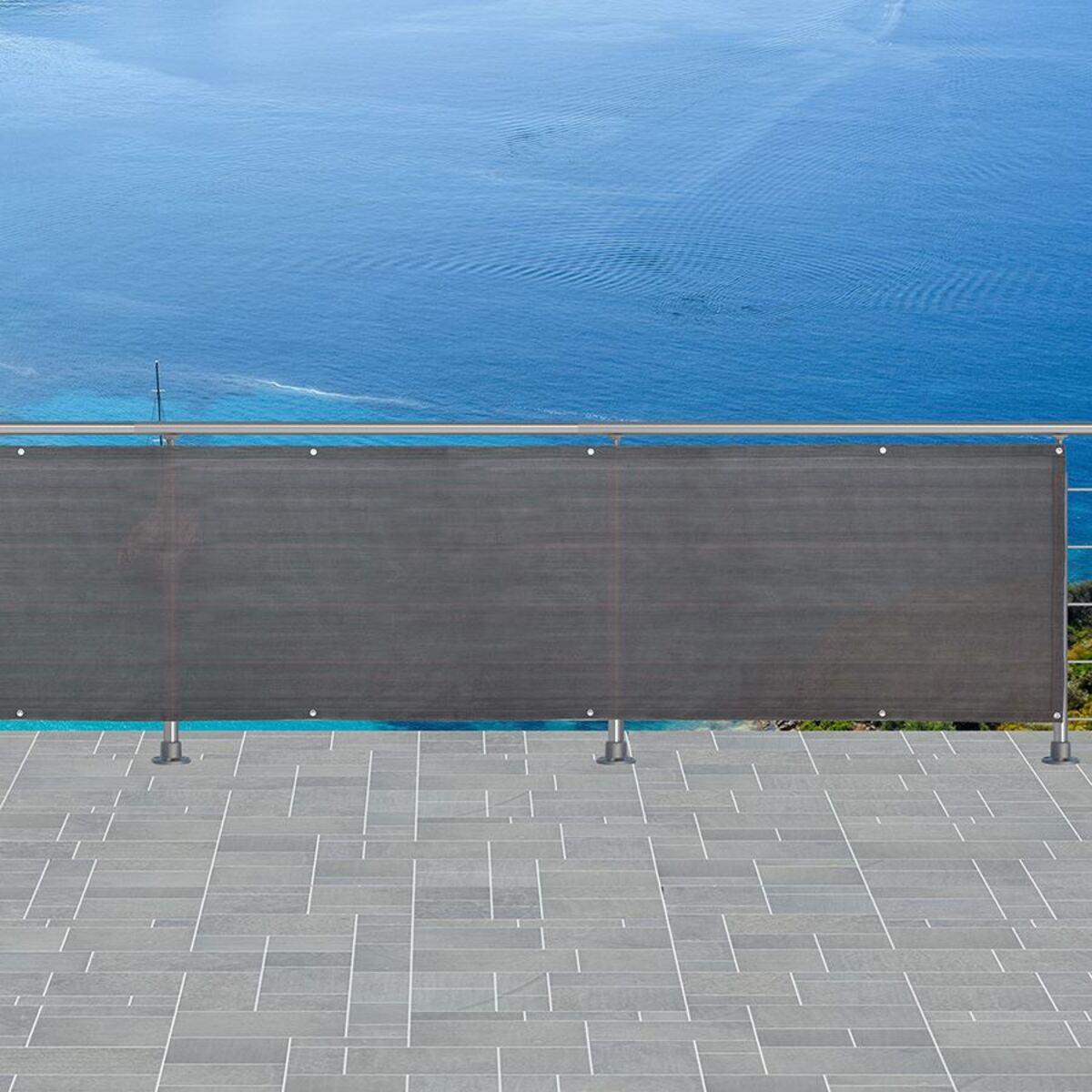 Bild 3 von Grüner Jan Balkonsichtschutz 6m Grau
