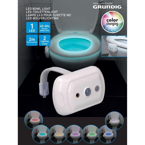 Grundig LED-Toilettenlicht mit Sensor