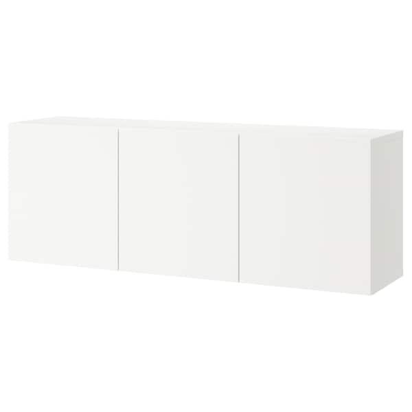 BESTÅ                                Schrankkombination für Wandmontage, weiß, Lappviken weiß, 180x42x64 cm