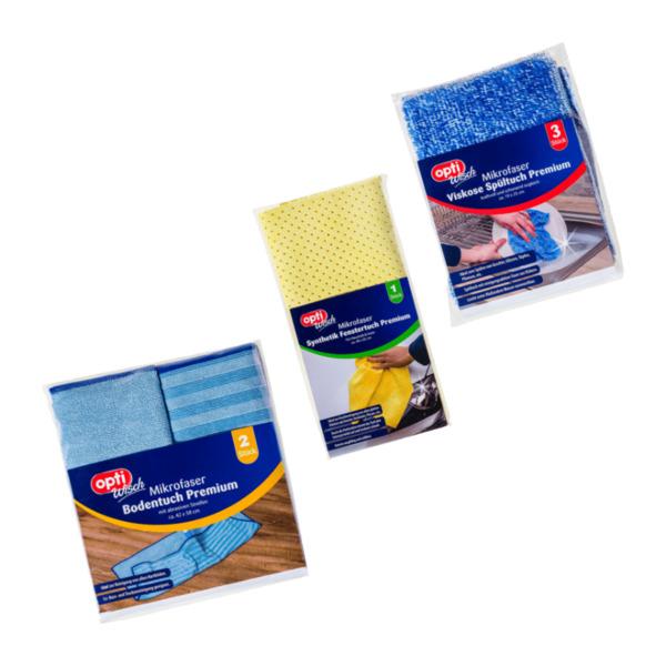 OPTIWISCH     Mikrofaser Reinigungstuch / -tücher