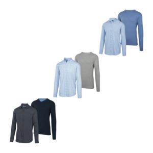 STRAIGHT UP     Pullover & Hemd Set