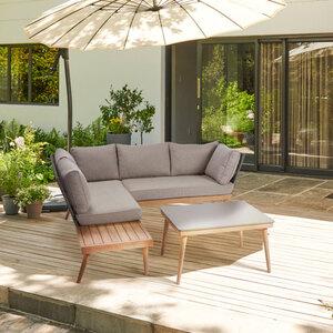 Garten Lounge-Set Rope