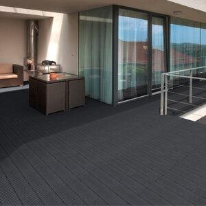 WPC Terrassendielen Home Deluxe, 6 m², anthrazit