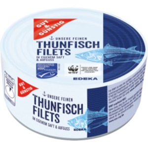 Gut & Günstig Thunfisch Filets
