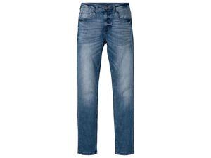 LIVERGY® Jeans Herren, hochwertiger YKK-Markenreißverschluss, mit Baumwolle