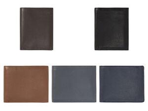 LIVERGY®  Geldbörse Herren, mit Kleingeldfach, Steckfächer, aus Leder