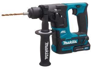 Makita Akku-Bohrhammer, Schlagzahl 4800 Schläge/min, 10,8 V, Brushless-Motor, inkl 2 Akkus