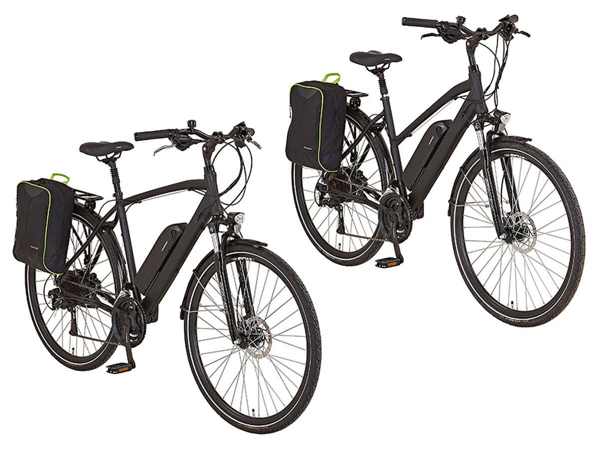Bild 1 von Prophete E-Bike Alu-Trekking, 28 Zoll, 100 km Reichweite, Damen, Herren, Seitenpacktasche