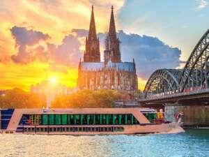 Auf Rhein, Main und Donau von Köln bis Passau - Flusskreuzfahrt