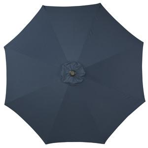 Alu-Sonnenschirm (ø 300 cm, blau)