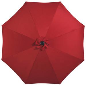 Alu-Sonnenschirm (ø 300 cm, rot)