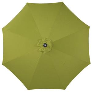 Alu-Sonnenschirm (ø 300 cm, lime)